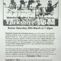 1997.03.29 Flier for 'Yorkshire's Best'
