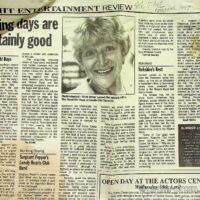 1997-04-17 Review in The Stage of 'Yorkshire's Best' by Geoff Mellor