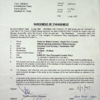 1997-07-02 Contract letter, Crawley Borough Council 1a
