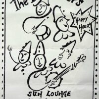 1997.07.05 Poster for Filey Sun Lounge
