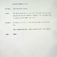 1997 Happy Hour script 1p