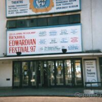 1997 Outside the De La Warr Pavilion 1