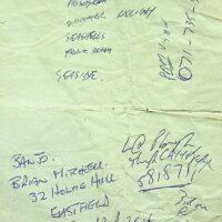 1997 Set list