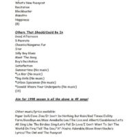 1997 Song List 1 page2