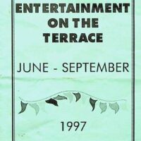 1997 Summer entertainment hand-out, De La Warre Pavilion, Bexhill 1