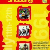 1998-07-12 One Man Band Shebang, Morecambe, brochure 1