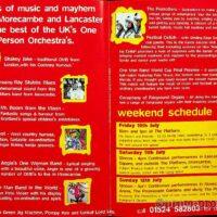 1998-07-12 One Man Band Shebang, Morecambe, brochure 1a