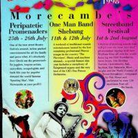 1998-07-12 One Man Band Shebang, Morecambe, town brochure