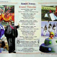 1998-08-08 Barrow in Furness Street Theatre Festival brochure 1a