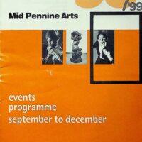 1998-10-18 Mid-Pennine Arts brochure 1
