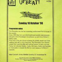 1998-10-18 Upbeat event - Mid-Pennine Arts