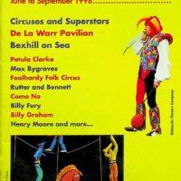 1998 De La Warr Pavilion, Bexhill-on-Sea summer brochure 1