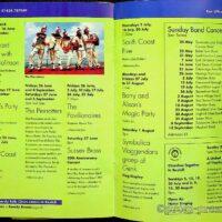 1998 De La Warr Pavilion, Bexhill-on-Sea summer brochure 1a