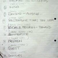 1998 Walk the Plank setlist