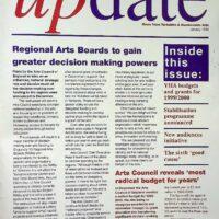1999-01 Yorkhire and Humberside Arts Update Magazine 1