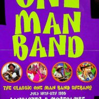 1999-05-11 One Man Band Shebang flier 1