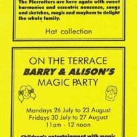1999-05 De la Warr Pavilion Sun Deck programme 1999 1a