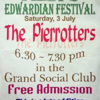 1999-07-03 Filey Edwardian Festival poster 1