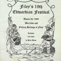 1999-07 Filey Edwardian Festival programme 1