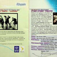 1999-08-08 Stockton International Riverside Festival brochure 1a
