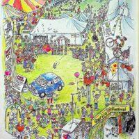 1999-08 Garlic Festival, Newchurch, Isle of Wight 1