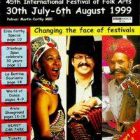1999-08 Sidmouth International Folk festival brochure 1