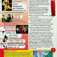 1999-08 Sidmouth International Folk festival brochure 1a
