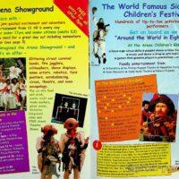 1999-08 Sidmouth International Folk festival brochure 1b