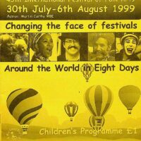 1999-08 Sidmouth International Folk festival flier