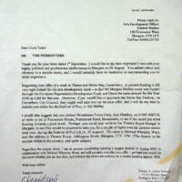 1999-09-03 Letter from Thanet District Council