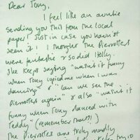 1999 Fanmail from Lancaster 1