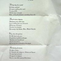 1999 Mela poem by Dave Calvert, Smiley Smacko 1