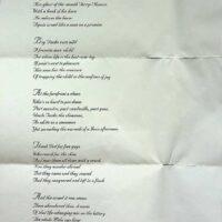 1999 Mela poem by Dave Calvert, Smiley Smacko 1a