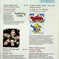 1999 Theatre Royal, Bury St Edmunds summer season brochure 1a