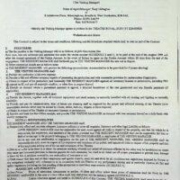 1999.01.25 Theatre Royal, Bury St Edmunds summer contract