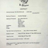 1999.05 contract for De la Warr Pavilion 1