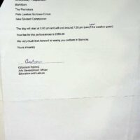 1999.07.09 Barnsley City Council letter 1a