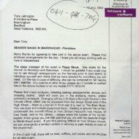1999.07.16 Seaside Magic in Maidenhead letter 1