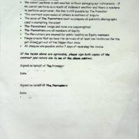 1999.08.14 Halifax Piece Hall contract 1b
