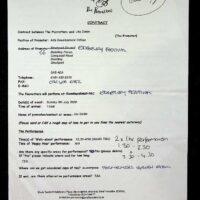2000.01.07 Edgeley Festival contract 1