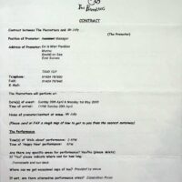 2000.01.27 Contract Bexhill-on-Sea 1