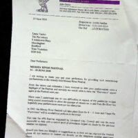 2000-06-27 Mersey River Festival - thank you letter 1