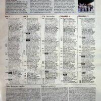 2000-09-03 Sunday Telegraph Magazine re Picture This