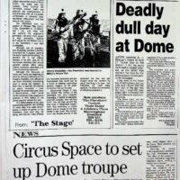 2000 The Stage review of 'Picture This' - from NASE