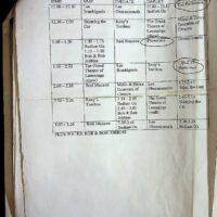 2001 Bradford Festival schedule