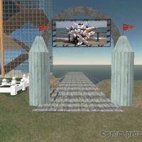 2nd Life Virtual Pier - Snapshot_001