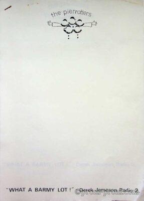1984-5 headed paper