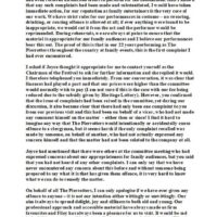 2005 Letter to Filey Festival Committee 17th March 2005 page2