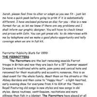 Bury 1999 Blurb