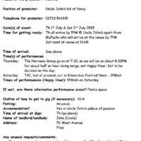 Copy of Gig sheet Bex 1